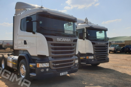 Scania, R460, 6x4 Drive, Truck Tractor, Used, 2014