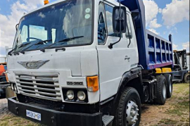 Hino, 55-350 , Double Diff, Tipper Truck, Used, 1990