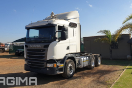 Scania, G460, 6x4 Drive, Truck Tractor, Used, 2015