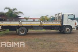 Hino, 500 1624 , LWB, Dropside Truck, Used, 2014