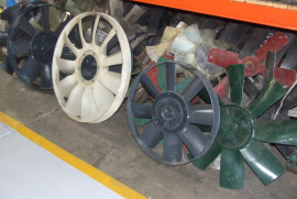 Truck Parts, Various, Truck Fans, Cooling Systems, Used