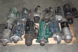 Truck Parts, Various, Truck starters, Engine Parts, Used