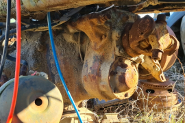Truck Parts, Other, Peterbilt 8x4, Axels, Used, 1995