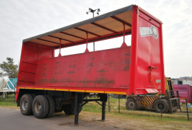 CTS, Curtain Side Trailer, Used, 1993