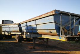 SA Truck Bodies, Side Tipper Trailer, Used, 2008
