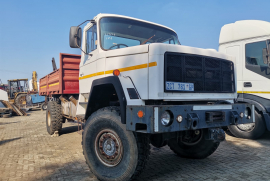 Samil, 50 with dropside body, 4x4 Drive, Crane Truck, Used, 1998