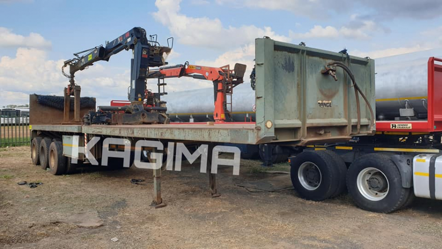 Sa Truck Bodies Flat Deck Tri Axle Trailer For Sale In South Africa On Truck Search