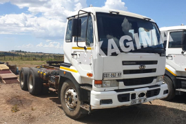 Nissan, UD440, Double Diff, Truck Tractor, Used, 2008
