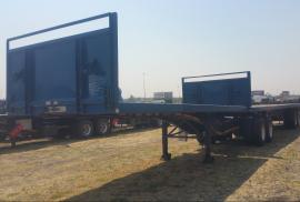 SA Truck Bodies, Flatdeck, Superlink Trailer, Used, 2018