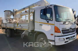 Hino, 500 Super F Hi Reach, LWB, Cherry Picker Truck, Used, 2008