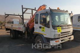 Isuzu, FTR 800 with Palfinger PK12000, LWB, Crane Truck, Used, 2009