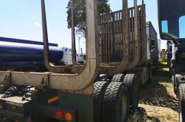 Volvo, FMX 400, Double Diff, Log Carrier Truck, Used, 2012