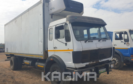 Mercedes Benz, 1417 Powerliner , LWB, Refrigerated Truck, Used, 1988