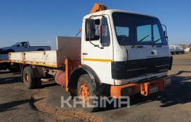 Mercedes Benz, 1417, LWB, Crane Truck, Used, 1989