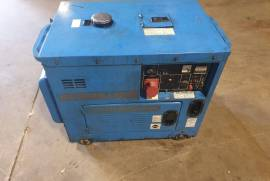 Various, JDP 6000 –LDE3N single phase, air cooled 6.5KVA, Generator, Used