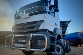 Mercedes Benz, Axor 3340, 6x4 Drive, Truck Tractor, Used, 2018