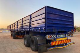 SA Truck Bodies, Dropside Sidetipper, Superlink Trailer, Used, 2013