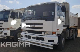 Nissan, UD 440 10 Cube, 6x4 Drive, Tipper Truck, Used, 2006