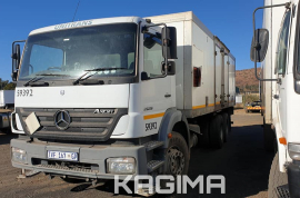 Mercedes Benz, Axor 2628 , LWB, Insulated Body Truck, Used, 2005