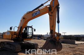 JCB, JS205 LG Tracked, Excavator, Used, 2014