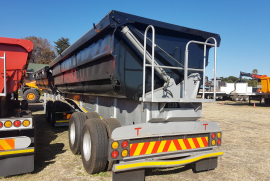 SA Truck Bodies, 45m3 , Side Tipper Trailer, Used, 2008