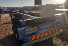 SA Truck Bodies,  12m tandem axle , Skeletal Trailer, New, 2020