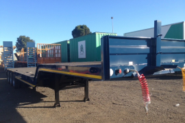 UBT, Light Duty Tri Axle Stepdeck, Lowbed Trailer, Used
