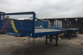 Henred, Tri-Axle Trailer, Used