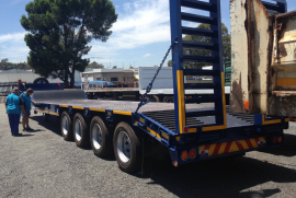 UBT, 42 Ton Four Axle Stepdeck, Lowbed Trailer, New