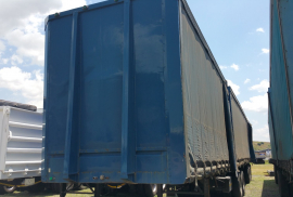 SA Truck Bodies, Superlink, Tautliner Trailer, Used, 2009