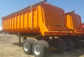 Henred, 28m3 Copelyn , End Tipper Trailer, New, 2020