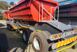 SA Truck Bodies, 25m3, Side Tipper Trailer, Used, 2013