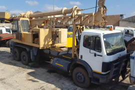 Mercedes Benz, 2426, Double Diff, Drill Rig Truck, Used