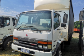 Fuso, FM16-253, LWB, Curtain Side Truck, Used, 2010