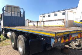 International, 9800 LWB, LWB, Flat Deck Truck, Used, 2008