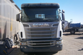 Scania, R500 Twin Steer, 8x4 Drive, Crane Truck, Used, 2012