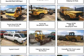 Truck Parts, Various, Stripping for Parts, Used