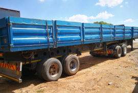 Afrit, 6.1M x 12.2M, Dropside Trailer, Used, 2016