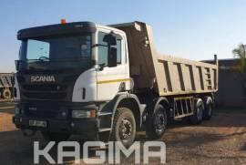Scania, P410 18 Cube , 8x4 Drive, Tipper Truck, Used, 2018