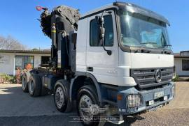 Mercedes Benz, Actros 4150, 8x8 Drive, Crane Truck, Used, 2008