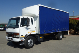 Fuso, 14.213 8 Ton Tautliner, 4x2 Drive, Curtain Side Truck, Used, 2009