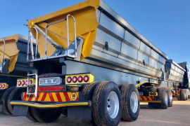 SA Truck Bodies, Side Tipper, Interlink Trailer, Used, 2015