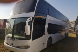 Volvo, B12 B Marcopolo DD 1800, 67 Seater, Double Deck Bus, Used, 2003