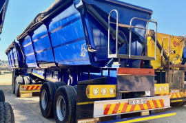 Leader Bodies, 45 CUBE SIDE TIPPER, Interlink Trailer, Used, 2018