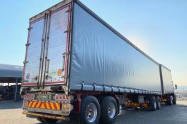 SA Truck Bodies, Tautliner, Superlink Trailer, Used, 2014