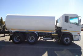 Nissan, UD 390 16000L, 6x4 Drive, Water Tanker Truck, Used, 2011