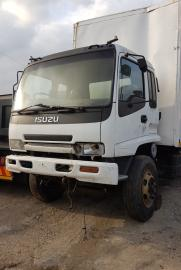 Truck Parts, Isuzu, 6hh1 6he1, Stripping for Parts, Volume Van Body, Used, 2007