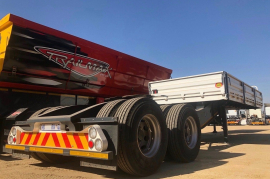 RTB,  6,1M with front dropsides, Superlink Trailer, Used, 2018