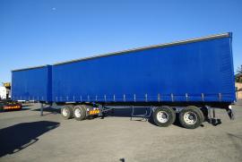 SA Truck Bodies, Superlink , Tautliner Trailer, Used, 2015