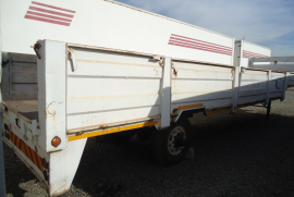 Home Built, Stepdeck Single Axle, Dropside Trailer, Used